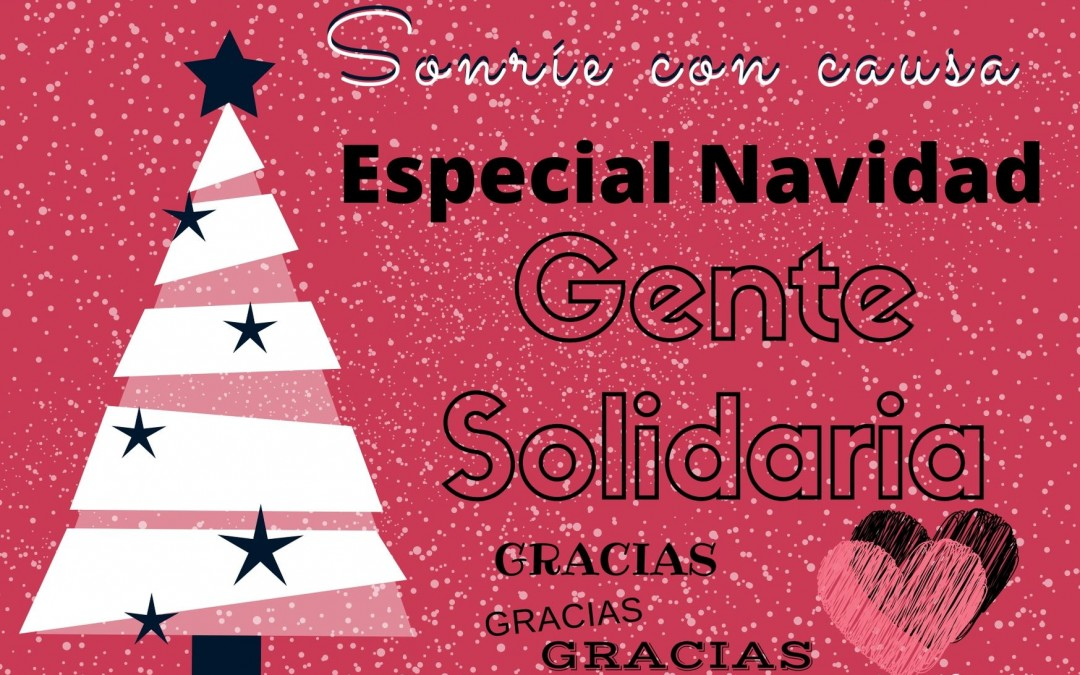 SONRÍE CON CAUSA -Especial Navidad